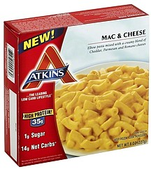 atkins mac and cheese.