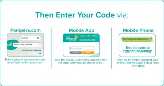 Pampers Gifts To Grow Enter Codes – Gift Ftempo