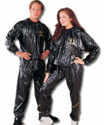A Sauna Suit Looks Like Garbage Bag Sewn Into Full Body This