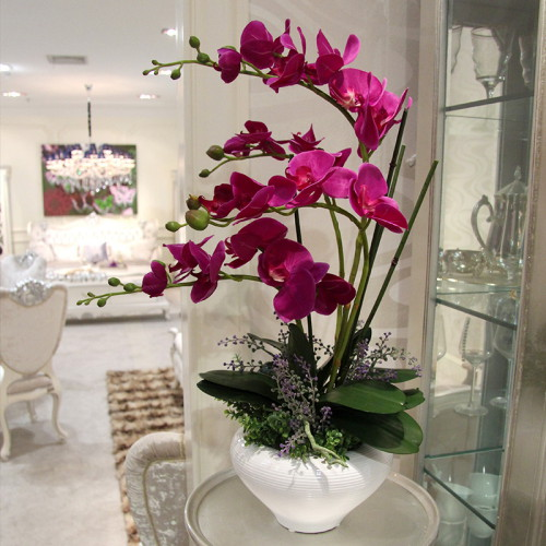 Silk Flowers - Orchids.