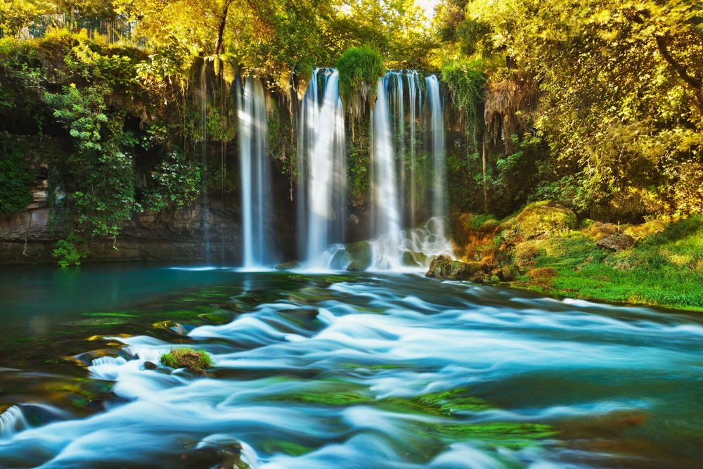 Waterfall-Duden-at-Antalya-Turkey.
